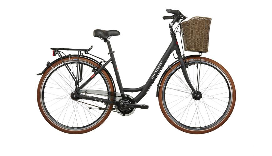 Ortler Monet - Bicicleta de paseo Mujer - negro